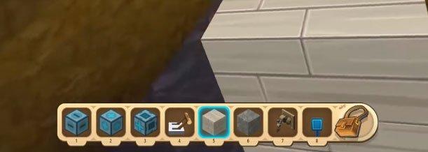 Cách làm cửa tự động trong Mini World: Block Art