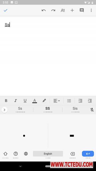 android typing morse code 6 cách gõ nội dung trên điện thoại Android